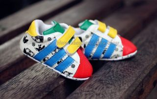 Toddler Baby Boy Girl Soft Sole Crib Shoes Infant Sneakers 0 6 6 12 12 18 Months