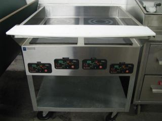 Mr Induction 4 Burner Induction Range SR 1151B 1W 115V