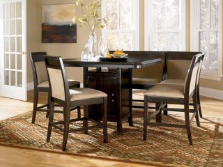 Morgan Counter Height Dining Table Chairs Pub Set New