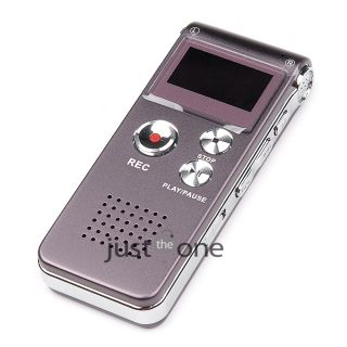 8GB Digital Voice Recorder USB Telephone Dictaphone  Player vor Rechargeable
