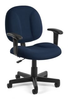 Computer Task Office Chair Adjustable Height Adjustable Arm Rests