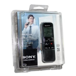Sony ICDPX312 Digital Flash Voice Recorder USB 2 GB Memory Card Expansion