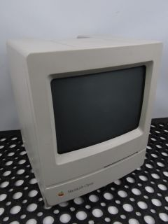 "Vintage 1990 Apple Computer Macintosh Classic M0420 ""Macquarium"" Parts Rep Sad"