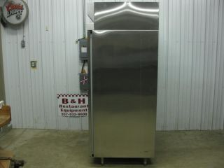 Hobart 2 Two Door Stainless Steel Commercial Freezer QF2