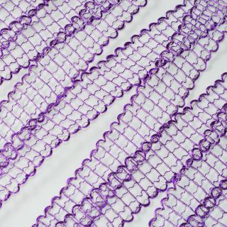 "Mesh Ribbon Trim 1"" x 25 Yards Wedding Baby Shower Craft Sewing"