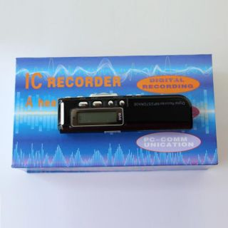 New 4GB USB Digital Audio Voice Recorder Pen Dictaphone  Player USA