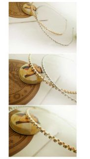 Sweet Elegant Clear Bling Crystal Rhinestone Hair Band Headband