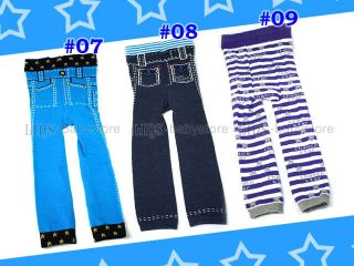 Details about New kids toddler baby girl boy legging trousers S52