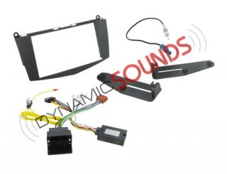Mercedes C Class Double DIN Stereo Fitting Kit CTKMB03