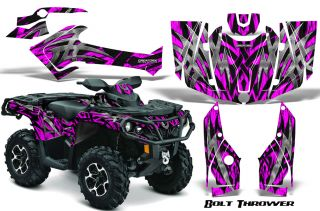 Can Am Outlander 800 1000 R XT 2012 Graphics Kit Decals Stickers BTP