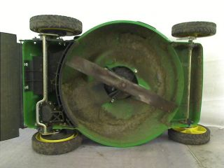 "John Deere JS36 22"" Rear Wheel Drive Self Propelled Walk Behind Gas Mower $429"