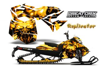Ski Doo Rev XM Summit Snowmobile Sled Graphics Kit Wrap Creatorx Decal Rcyy