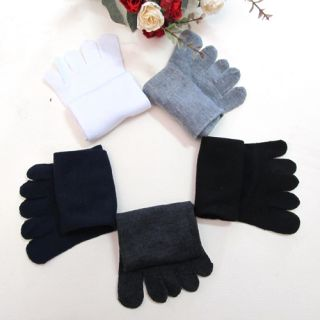 5 Pairs Socks Lots Womens Men Casual Cotton Winter Warm High Ankle Healthy New