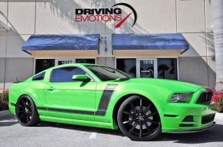 2013 Ford Mustang Boss 302 Gotta Have It Green RARE