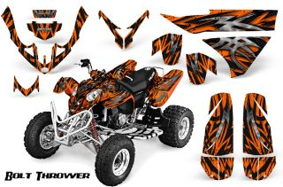 Polaris Predator 500 Graphics Kit Creatorx Decals Stickers BTO