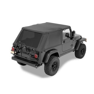 Bestop Trektop NX in Black Diamond for 04 06 Jeep Wrangler Unlimited