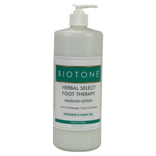 Biotone Herb Sel Foot Therapy Massage Lotion 32oz