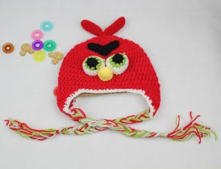 2013 New Baby Boys Girls Handmade Animal Winter Cap Hat Earflaps for 1 4 Years