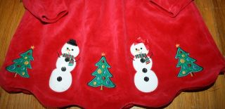 Bonnie Baby Christmas Dress Baby Girl Clothes 18M Tunic Holiday 12 18 Snowman