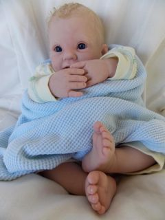 Mimi's Nursery Reborn Doll Baby Boy Christopher Alan Life Like Baby