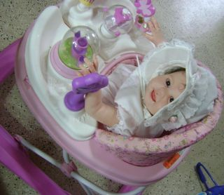 Beautiful Reborn Baby Girl Art Doll Juliana New Release Sculpt by Sandy Fabor