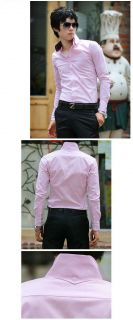 Fahion Stylish Mens Luxury Formal Casual Suits Slim Fit Dress Shirt Collection