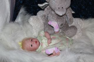 Sweet Pea Babies Reborn Doll Newborn Baby Girl Morgan by Aleina Peterson