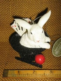 Cannon Falls Magician Magic Trick Hat Cards Rabbit Ball Wand Ornament New