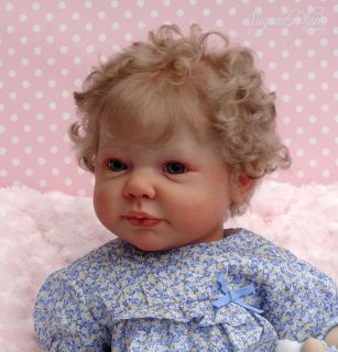 Sugar Plum Nursery Reborn Big Baby Toddler Girl Doll Camille Chloe Timmerman