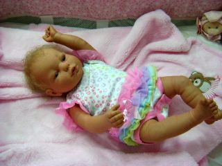 Reborn Baby Girl Art Doll Real Care Generation 6 Baby Think It Over Cries Coos