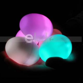 Multi Color Changing Mood LED Light Egg Lamp Nice Gift