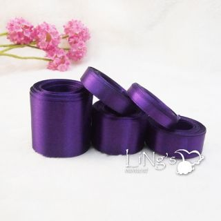 Purple Series Multiple Sizes Satin Ribbon Wedding Party Favor Decor Bow Gift