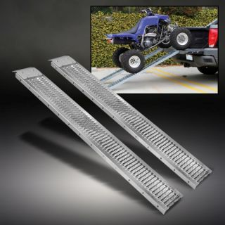 "1000 lbs Truck Loading Ramps 9""w x 72""L HD Steel ATV Motorcycle Tractor Non Slip"