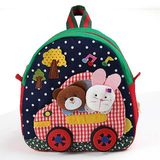 Baby Kid Backpack Schoolbag Toddler Handcrafted Doll Bag K0216 2