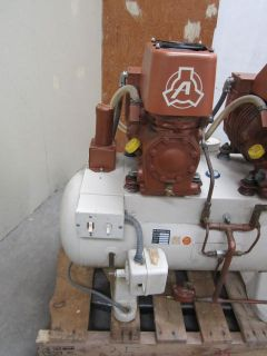 Air Techniques Dual Head Dental Air Compressor Model L 64