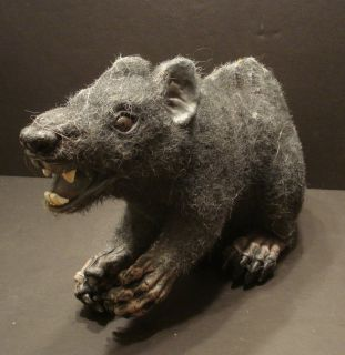 Scary Hairy Rat Halloween Prop Super Large