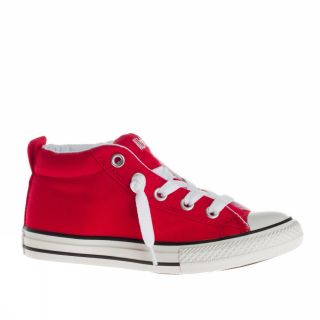 Converse All Star Ct Street Cab Mid 33 US 2 Red White Trainers Shoes Kids