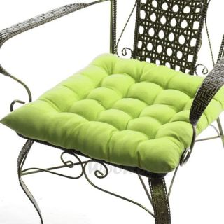 Suede Fabric Chair Seat Cushion Pad Warm Soft Thick Outdoor Dining 45x45cm