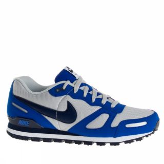 Nike Air Waffle Trainer US Size Blue White Trainers Shoes Mens New