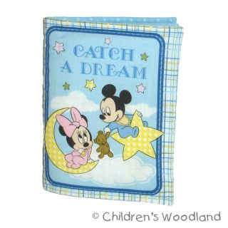 Disney Babies Cloth Soft Book Kid Baby Mickey Minnie Mouse Pluto Bedtime Story