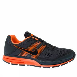 Nike Air Pegasus 29 US Size Charcoal Orange Trainers Shoes Mens Running New