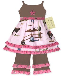 Girl Baby Western Cowgirl Dress Clothing Clothes 18 24M