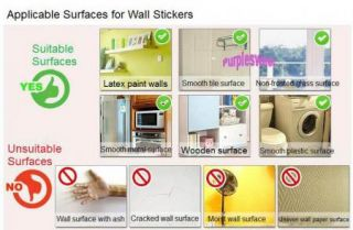 Green Garden Removable Wall Vinyl Sticker Decal Dining Room Bedroom Home Decor