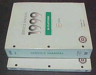 1999 Chevrolet Geo Metro Shop Service Repair Manual Set