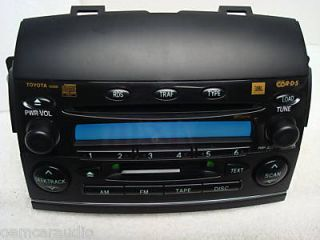 2004 2005 Toyota Sienna XLE JBL Radio 6 Disc CD Changer Player Factory OE