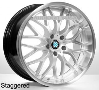 "20"" R505 Sil for BMW Wheels and Tires Rims 1 3 5 6 7 Series M3 M4 M5 M6 x3 X5"