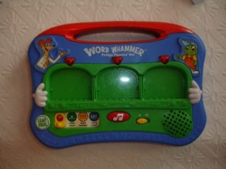 LeapFrog Word Whammer Fridge Phonics Learning ABCs Toy Complete