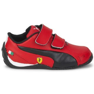 New Puma Drift Cat SF Ferrari Junior Kids Leather Casual Fashion Trainers Shoes