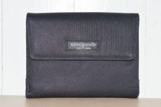 Kate Spade Small Black Nylon Wallet Change Coin Purse