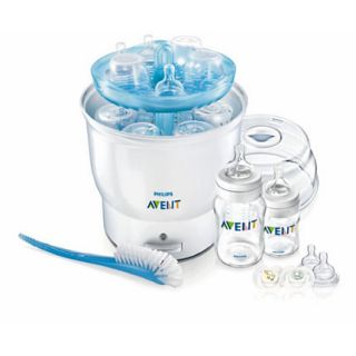 Philips Avent Naturally Express Electric Bottle Steamer Sterilizer